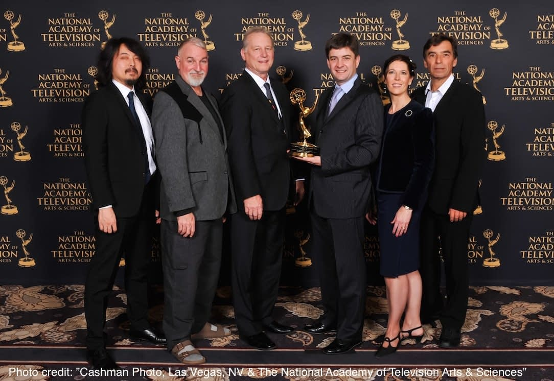 W3C Receives Emmy for Standards Work on Accessible Video Captioning and Subtitles