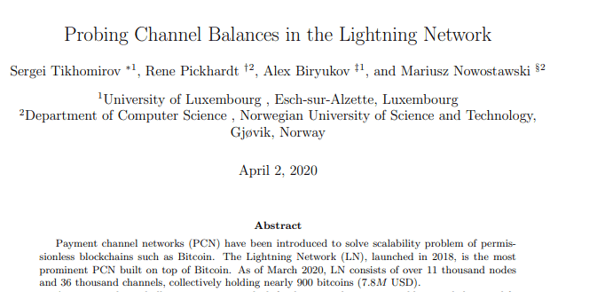 LN-Attack Published by Researchers