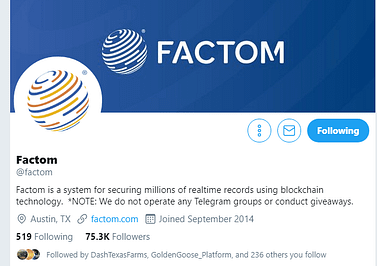 factom cryptocurrency exchange