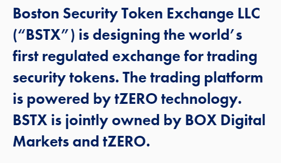 BSTX Boston Security Token Exchange LLC