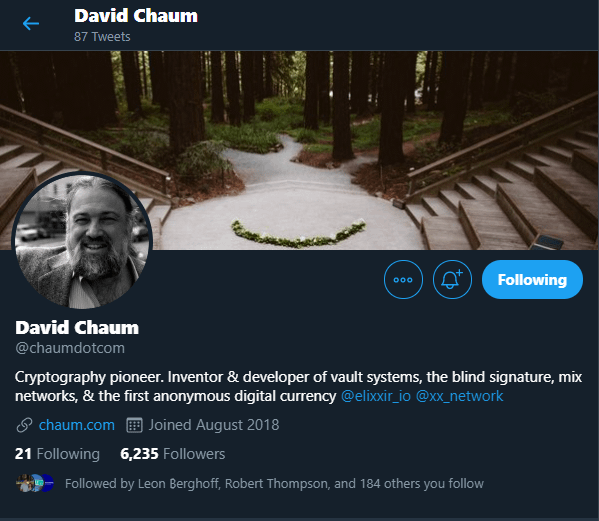 David Chaum - History of Digital Currency