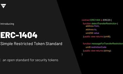 TokenSoft Launches New Security Token Standard