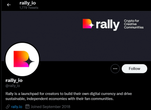 Rally (RLY) - Twitter