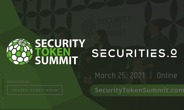 Securities.io & Draper Goren Holm's Security Token Summit Partner To Educate Masses on Digital Securities