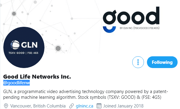 Good Life Networks via Twitter