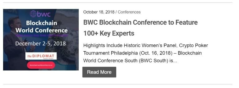 Conference Partnerships