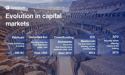 Evolution in Capital Markets – Thought Leaders