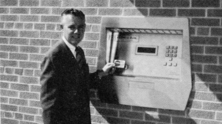 First ATM - History of Digital Banking