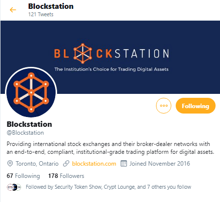 Blockstation via Twitter