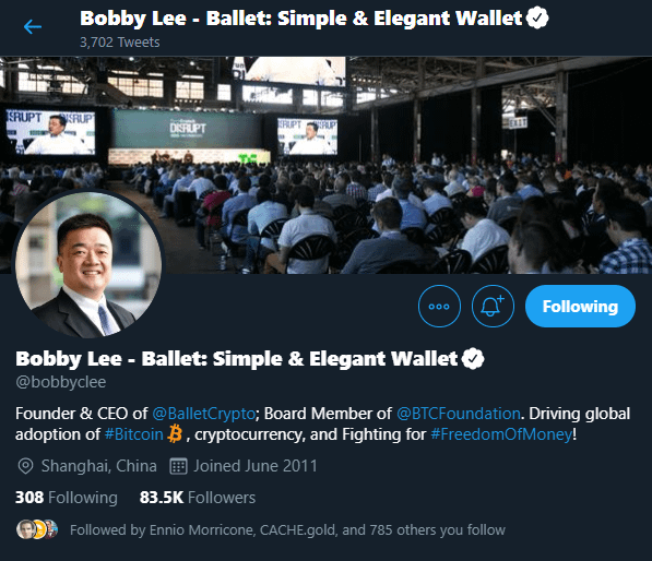 Bobby Lee - Founder of BTCC
