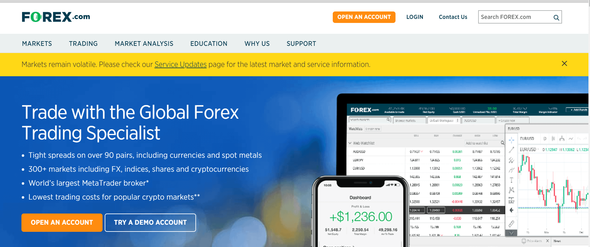 Forex website review investment map projects