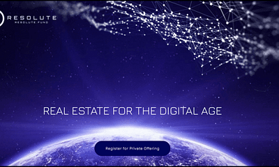 Resolute.Fund to Launch Tokenized Real Estate Fund through Swarm