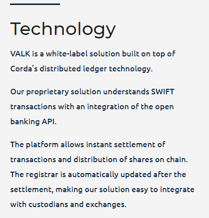 VALK via Homepage