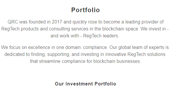 QRC Group via Homepage