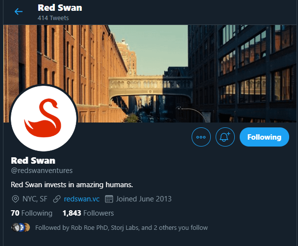 RedSwan via Twitter