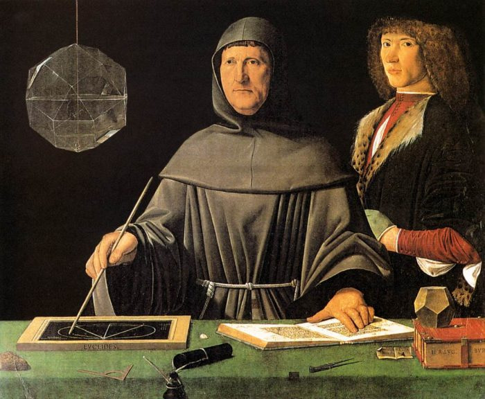 Luca Pacioli - Inventor of Double Book Keeping Method - Early FinTech