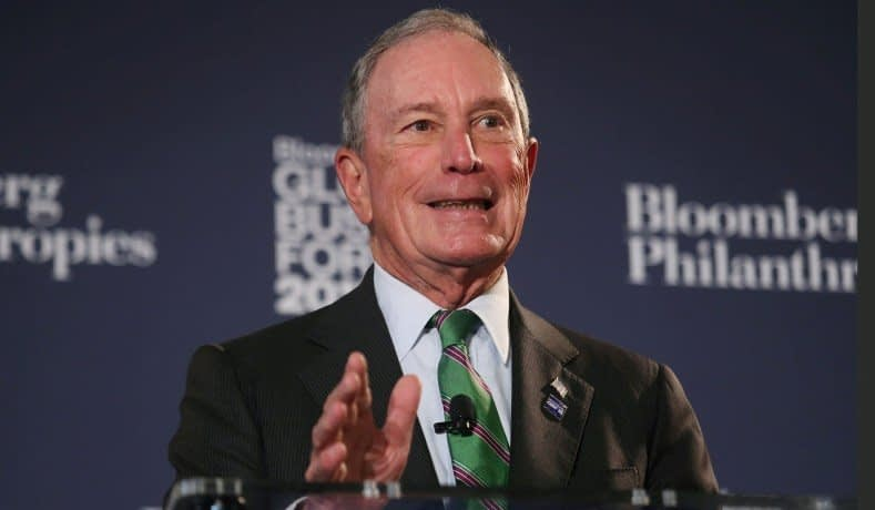 Former New York City Mayor Michael Bloomberg via National Review
