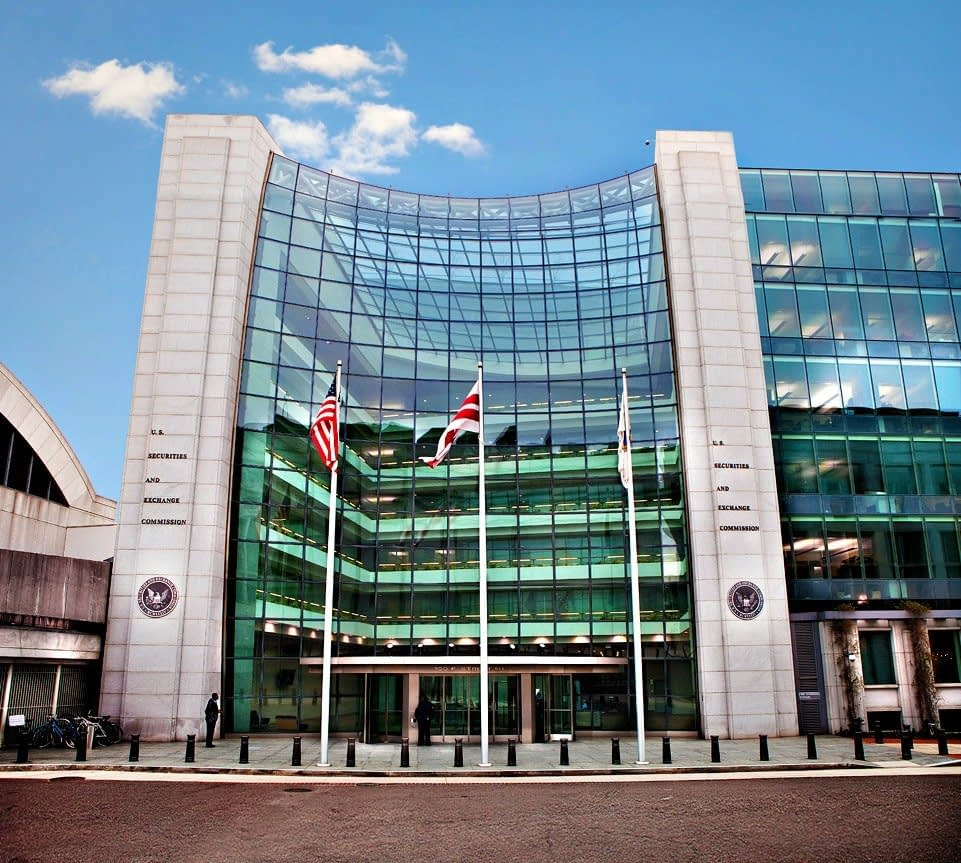 SEC Headquarters via Homepage
