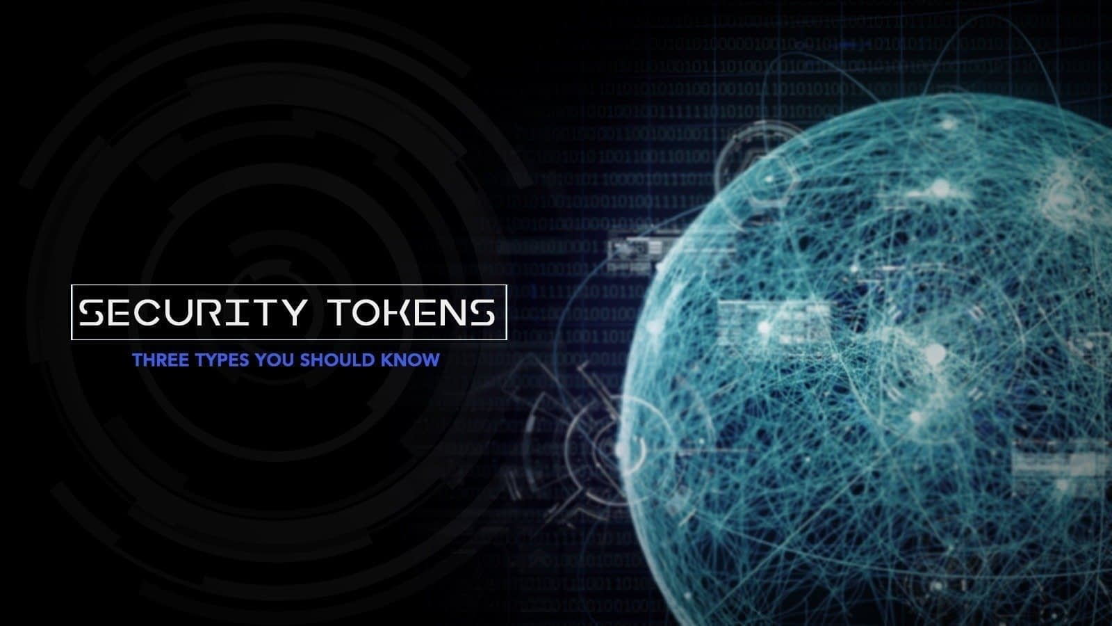 Three types of security tokens you should know about