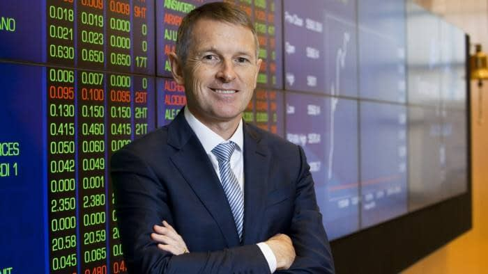 ASX CEO, Dominic Stevens via Financial Times