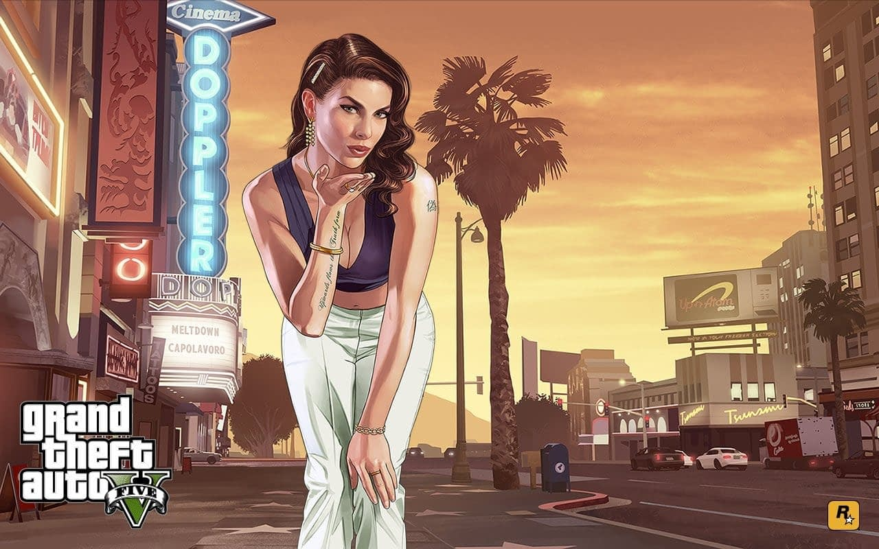 One of the best PS4 games GTA V