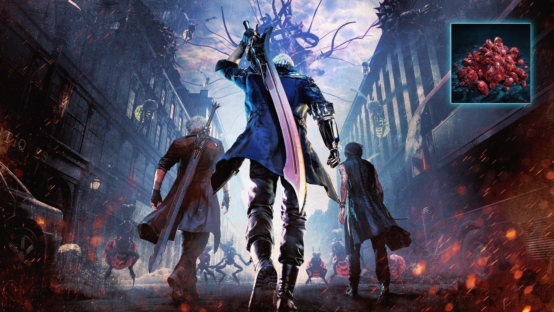 Best PS4 Games: Devil May Cry 5 Artwork