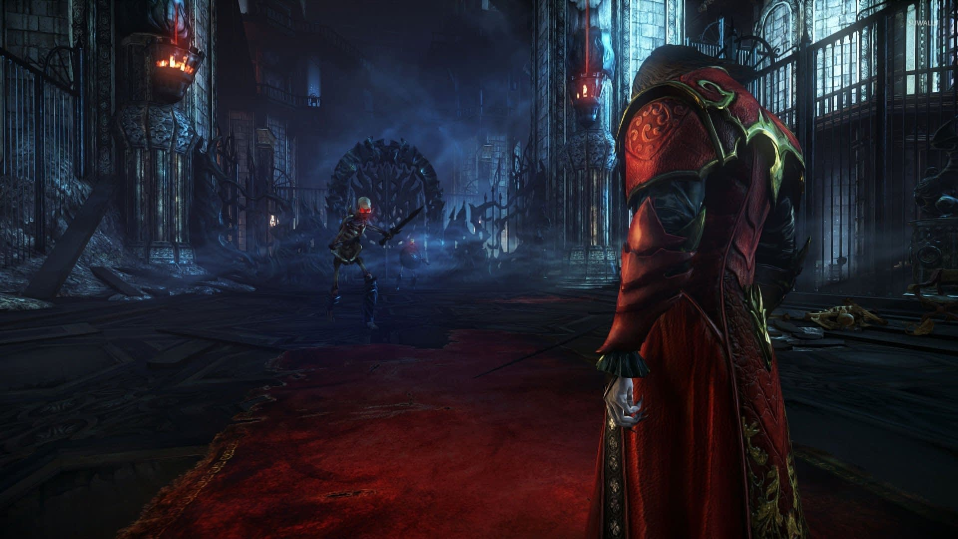 Lords of shadow 2 artwork