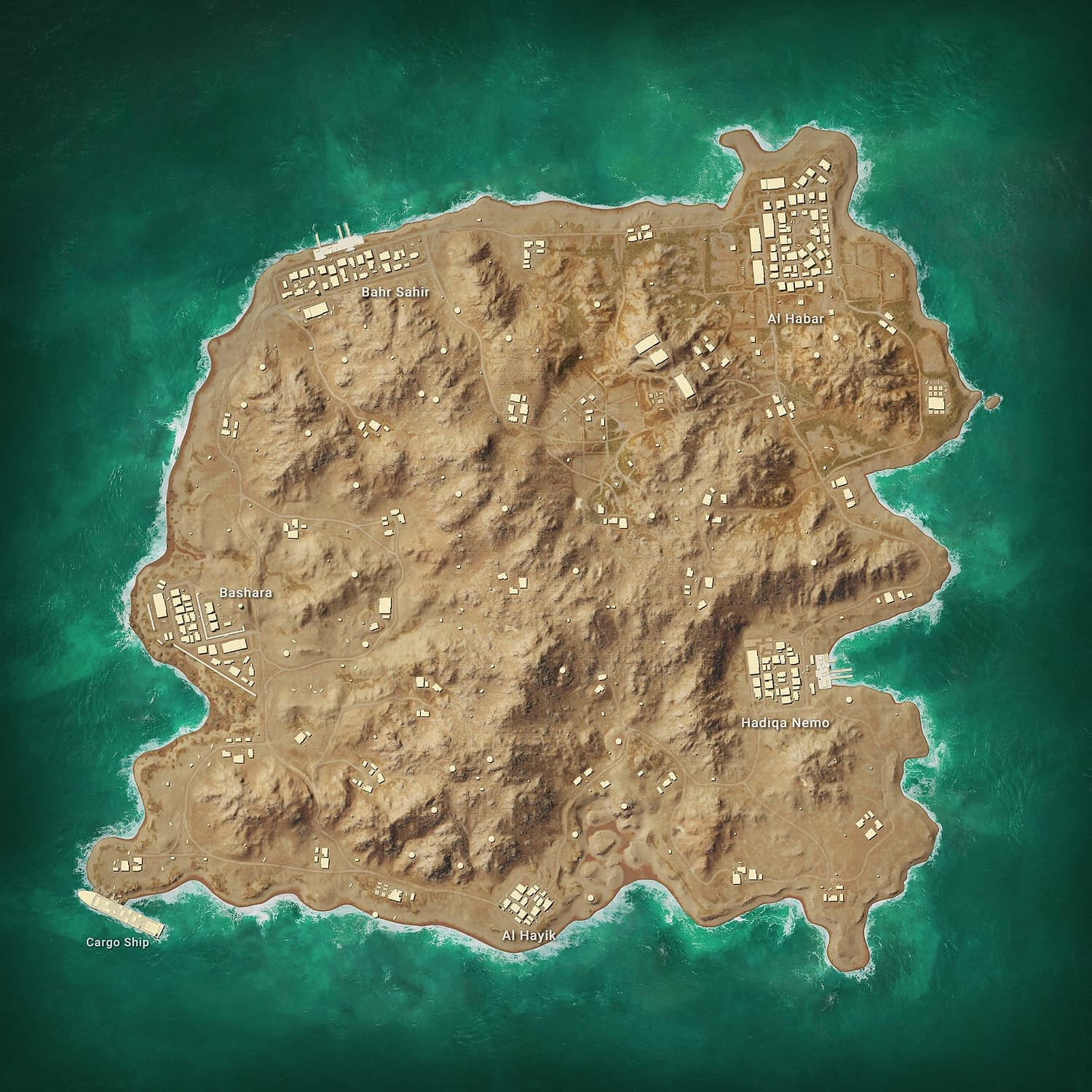 PUBG Season 6 Karakin Map