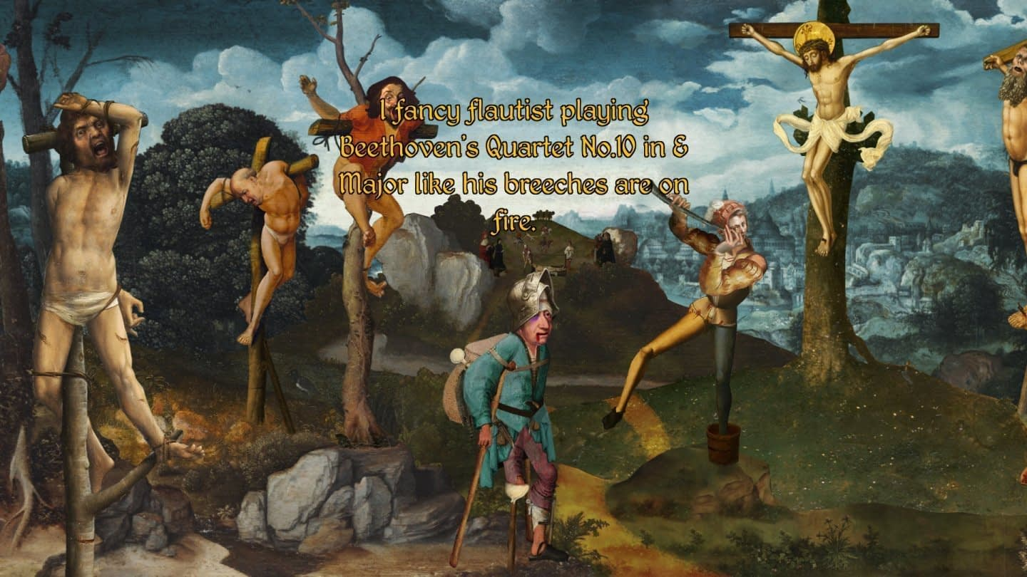 Offbeat indie games: The procession to calvary