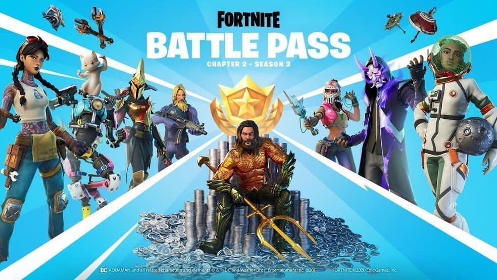 Fortnite: Chapter 2 Season 3 arrives with Aquaman and flooded map