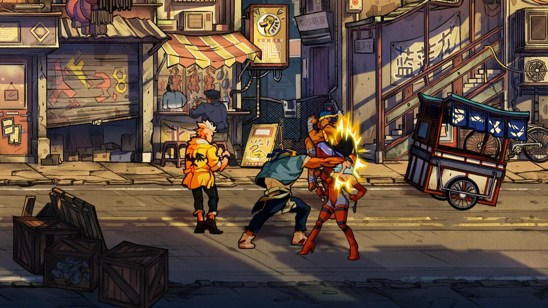 New Games on Steam: Streets of Rage 4