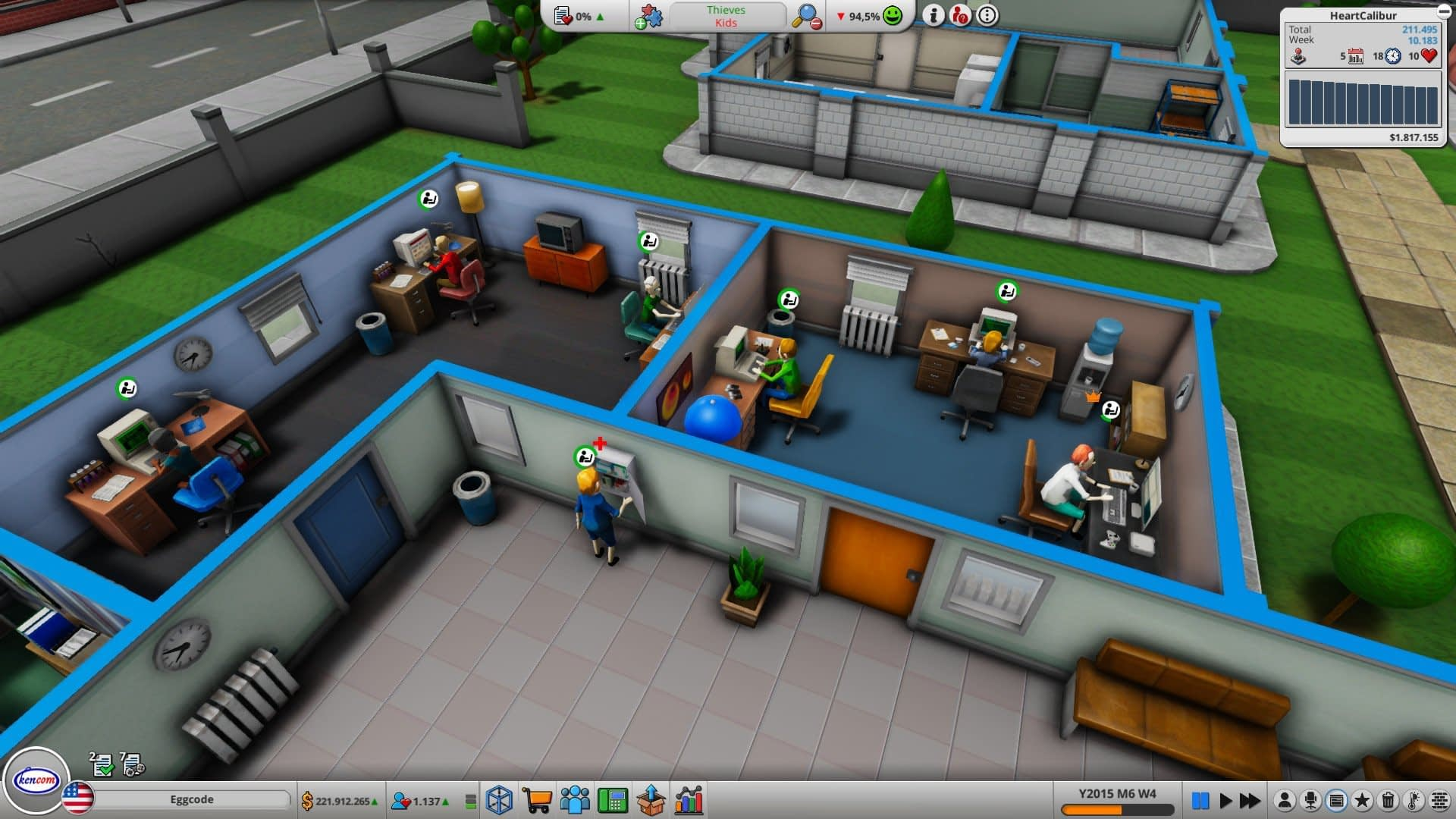 Mad Games Tycoon 2 gameplay