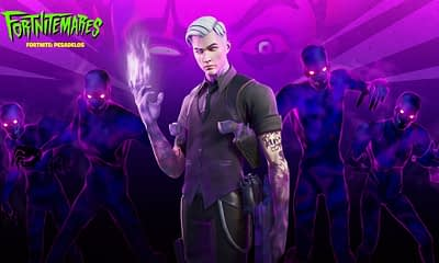 Shadow Midas is the newest boss to arrive at Fortnite. (Image: Epic Games)