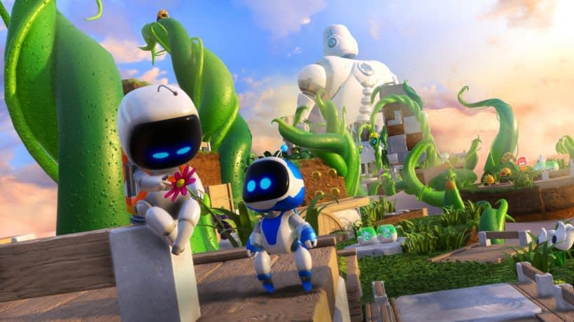 Astro Bot Rescue Mission artwork