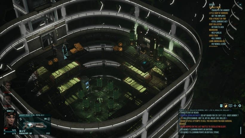 Colony Ship gameplay
