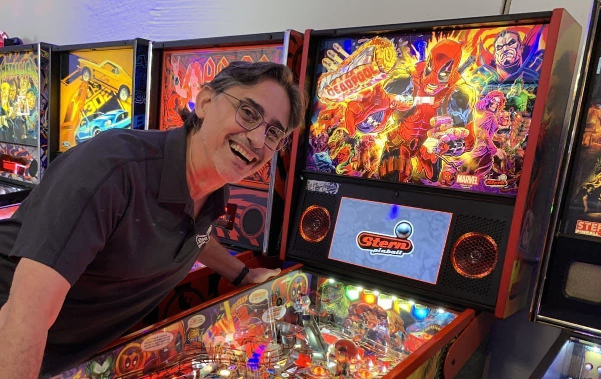 George Gomez, Chief Creative Officer at STERN Pinball - Interview Series