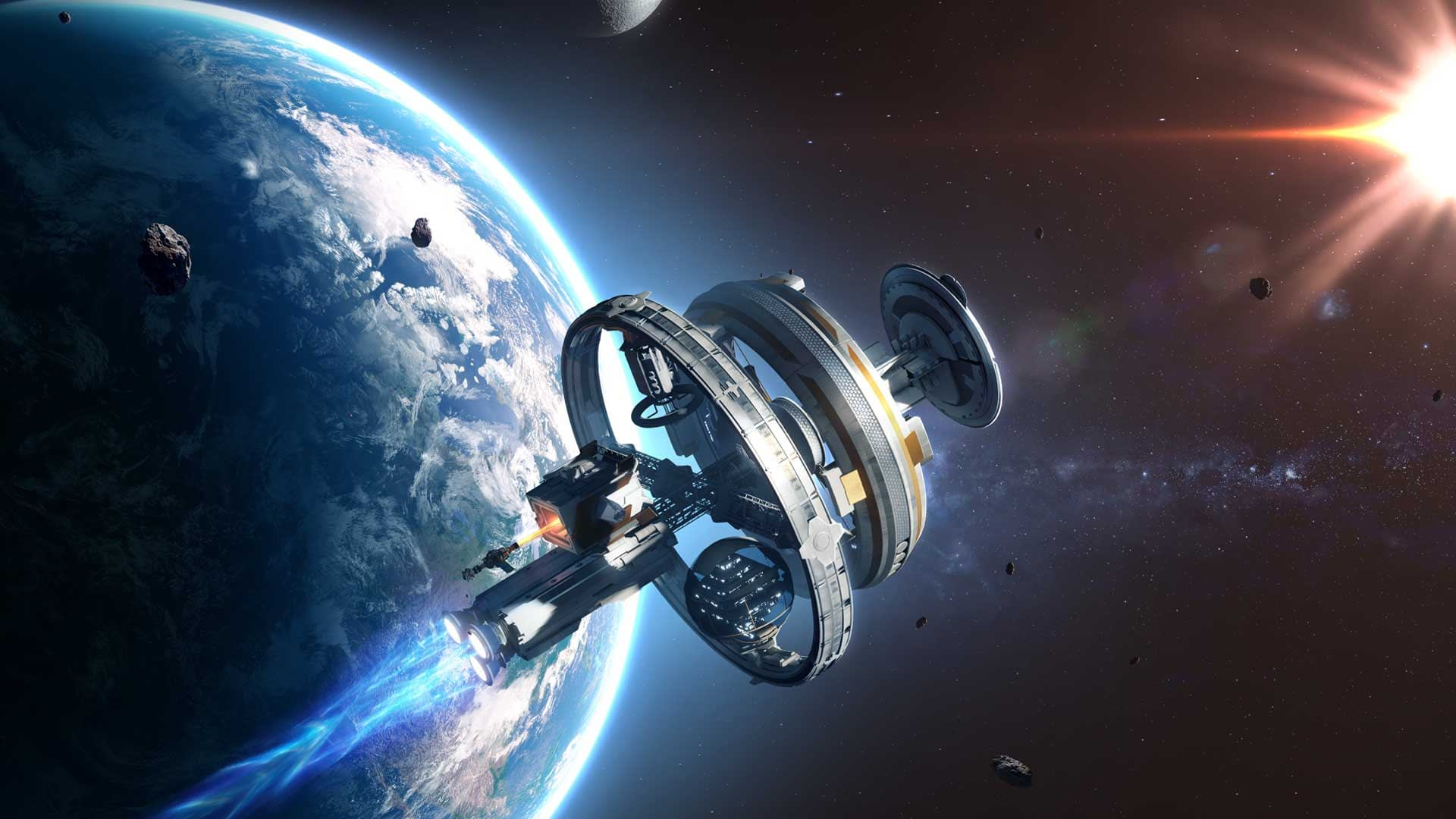 Ubisoft's New VR Space Sim, AGOS: A Game of Space Launches In October