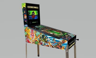 Zaccaria Pinball Tables Coming to Legends Arcade Family products.
