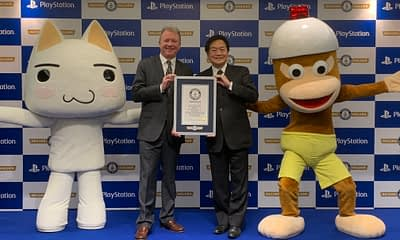 Sony Awarded Guinness Record for Best-Selling Home Console Brand