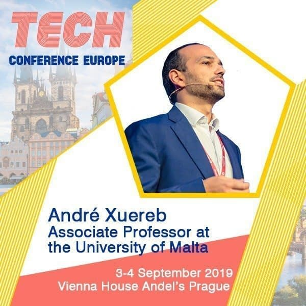 Learn more about Quantum Technology and Quantum Mechanics with Dr. André Xuereb at TCE2019 Prague